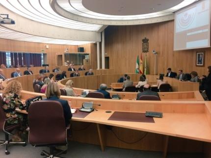 Sesión plenaria de Diputación de fecha 9 de octubre