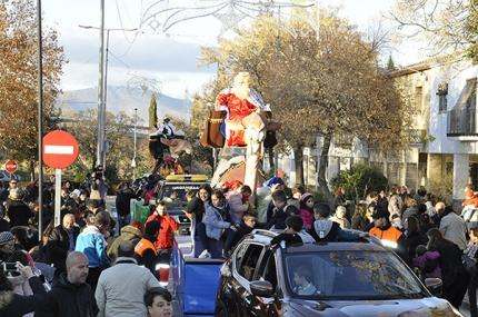 Inicio de la cabalgata de El Chaparral desde la Plaza de las Flores.