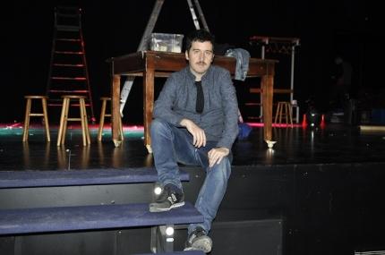 El actor alboloteño, Juan VInuesa.
