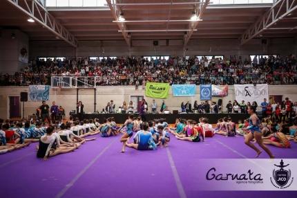 Ambiente en el pabellón Inacua durante el desarollo del torneo /GARNATA