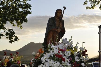 San Isidro Labrador, en procesión
