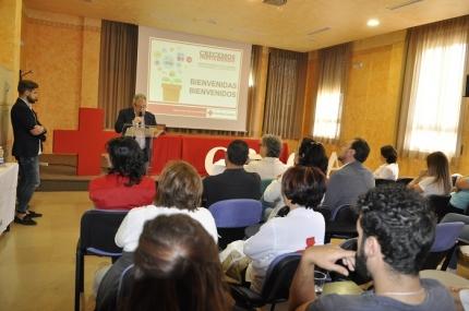 Inauguración del congreso provincial de Cruz Roja en el OAL Promoción Económica y Empleo