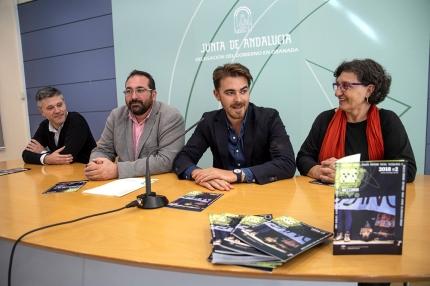representantes institucionales durante la presentación del programa Abecedaria/ J.A.