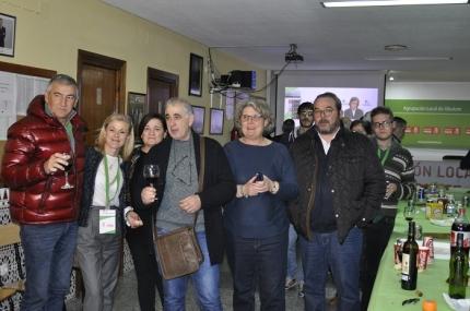 Noche electoral en la sede del PSOE de Albolote