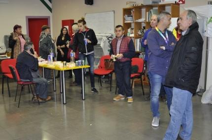 Sede de IU donde se congregaron los militantes de Adelante Andalucía