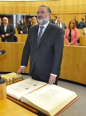 Pablo García, nuevo Delegado de Gobierno de la Junta en Granada