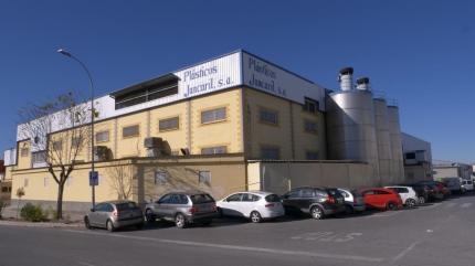 Exterior de la empresa en el polígono Juncaril de Albolote