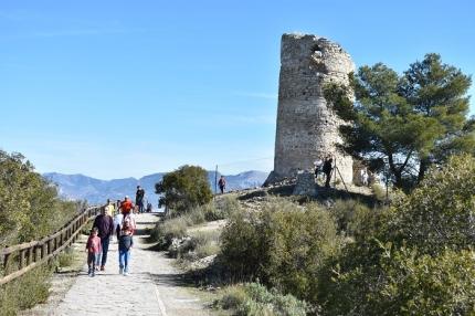 Subida al Torreón en el día de la Candelaria
